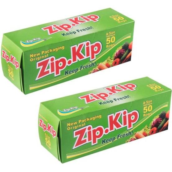 کیسه زیپ دار زیپ کیپ مدل A مجموعه 2 عددی |