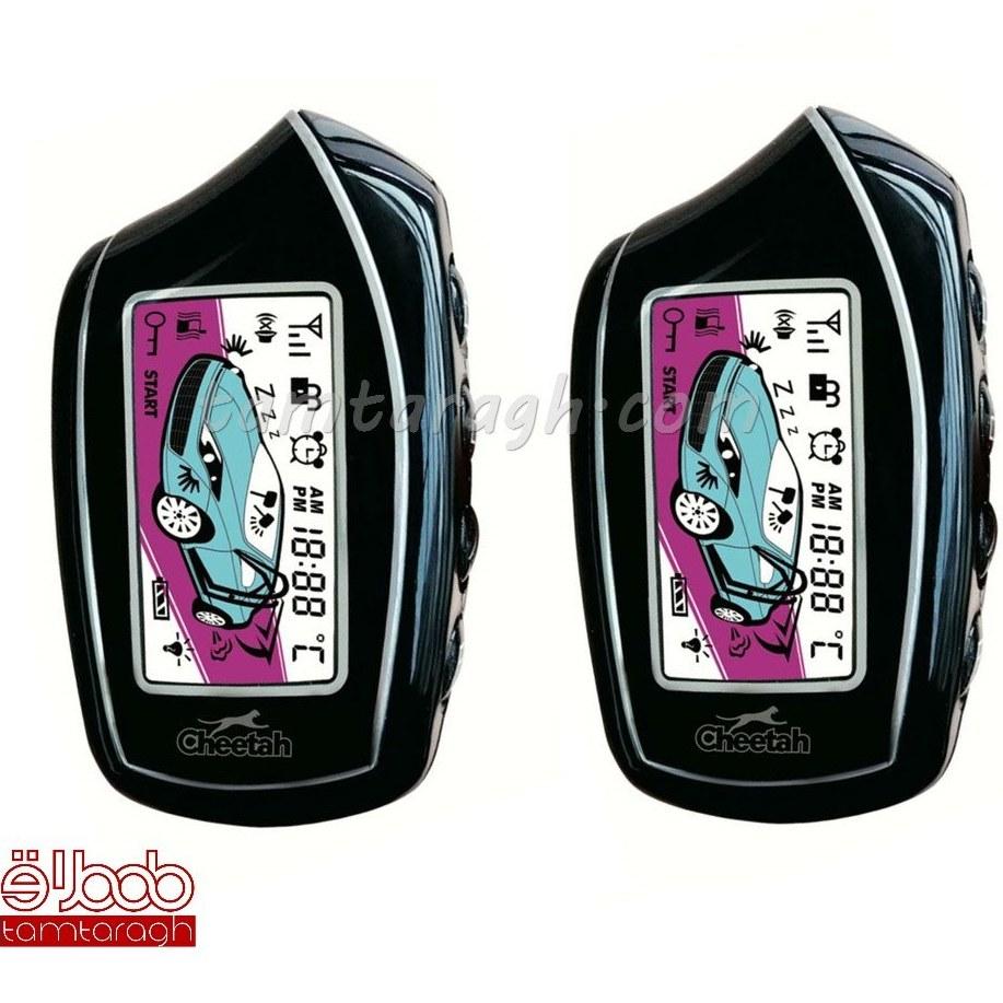 main images دزدگیر تصویری چیتا مدل F20 دارای دو ریموت باتری خور