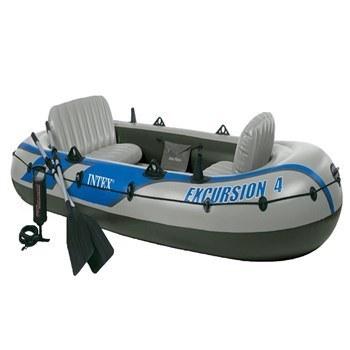 عکس قایق بادی اینتکس مدل Excursion4  قایق-بادی-اینتکس-مدل-excursion4