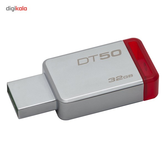 img فلش مموری کینگستون مدل DataTraveler 50 ظرفیت 32 گیگابایت Kingston DataTraveler 50 Flash Memory - 32GB