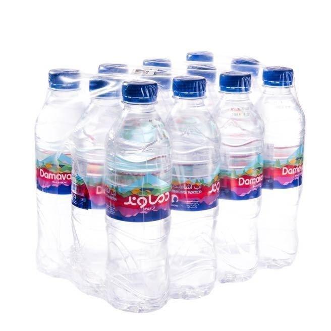 تصویر آب معدنی کوچک دماوند( 12 عددی) 500 سی سی