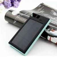 شارژر همراه  Solar Charger 6000 mAh PowerBank پاوربانک خورشیدی 6000 میلی آمپری