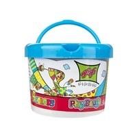 تصویر خمیر بازی ۵ رنگ سطلی توتو