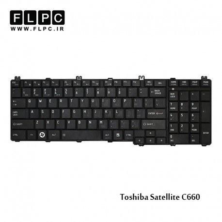 main images کیبورد لپ تاپ توشیبا Toshiba Laptop Keyboard Satellite C660