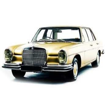 خودرو مرسدس بنز S280 W108 دنده ای سال 1968 | Mercedes Benz S280 W108 1968 MT