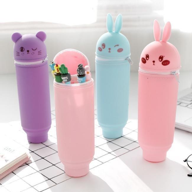 جامدادی سیلیکونی طرح خرگوشی |