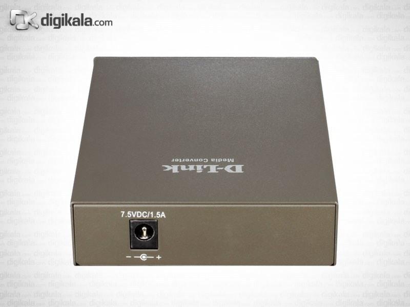 تصویر مبدل فیبر نوری به اترنت دی-لینک مدل DMC-515SC