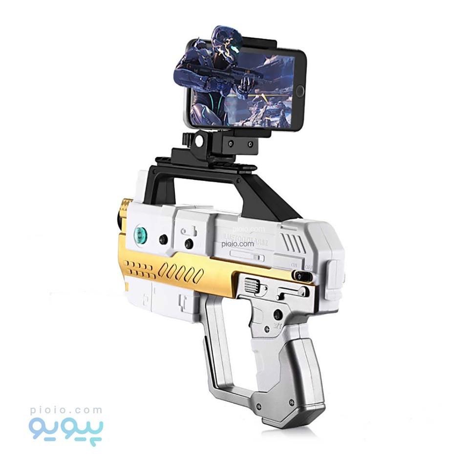 تصویر تفنگ اسباب بازی واقعیت افزوده مدل ARGun