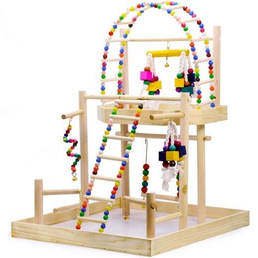 تصویر پارک بازی پرندگان خانگی (طوطی، کاسکو، عروس هلندی و...)