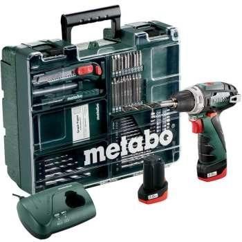 دریل پیچ گوشتی شارژی متابو مدل PowerMaxx BS | Metabo Cordless Drill PowerMaxx BS