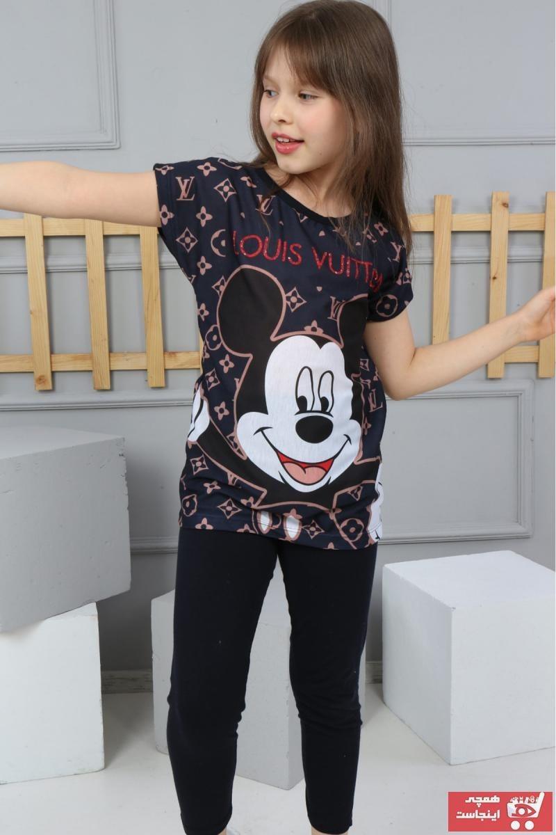 تصویر ست لباس دخترانه فروشگاه اینترنتی برند Modamarimo رنگ مشکی کد ty102292461