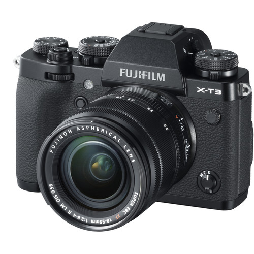 عکس کیت دوربین بدون آینه فوجی فیلم FUJIFILM X-T3 Mirrorless Digital Camera with 18-55mm Lens (Black)  کیت-دوربین-بدون-اینه-فوجی-فیلم-fujifilm-x-t3-mirrorless-digital-camera-with-18-55mm-lens-black