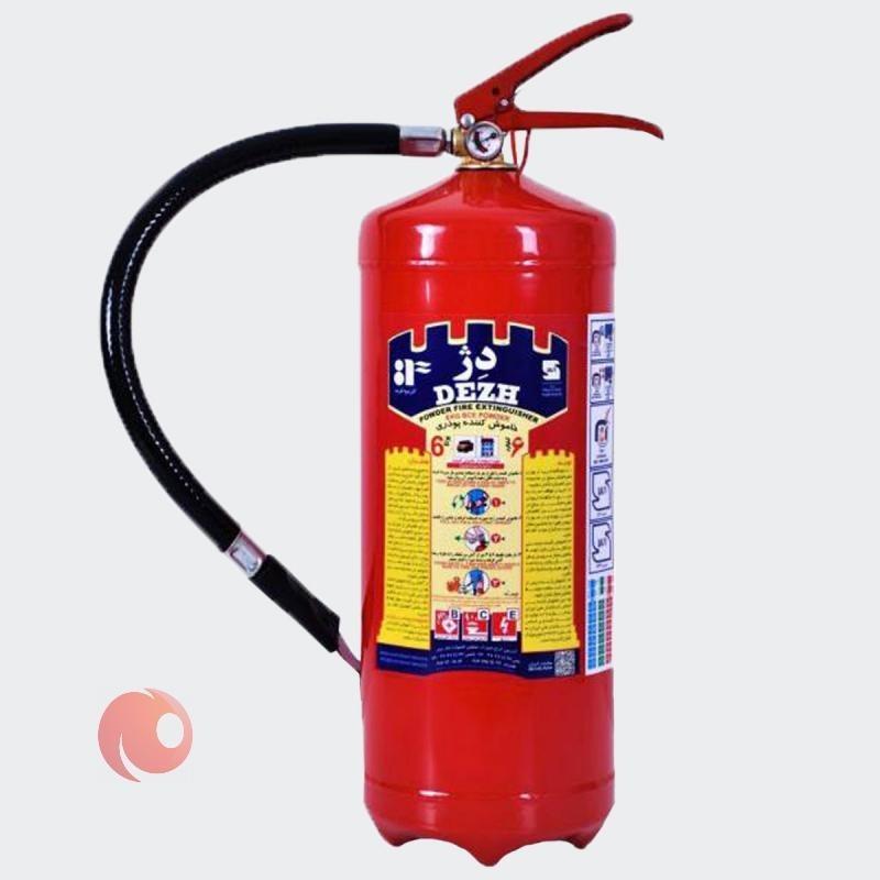 تصویر کپسول آتش نشانی 6 کیلو دژ 6 کیلو دژ