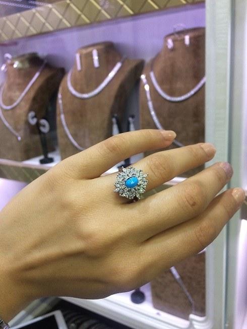 انگشتر فیروزه نقره   silver ring