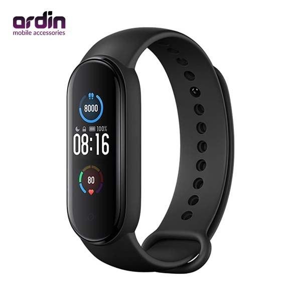 تصویر دستبند سلامتی شیائومی مدل Mi Band5  ا Xiaomi Mi Band 5 Smart Wristband Bracelett Xiaomi Mi Band 5 Smart Wristband Bracelett
