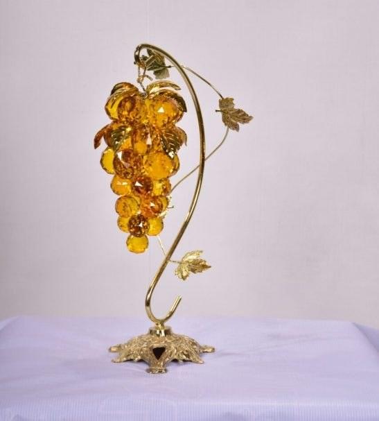 انگور کریستالی پایه برنزی زرد