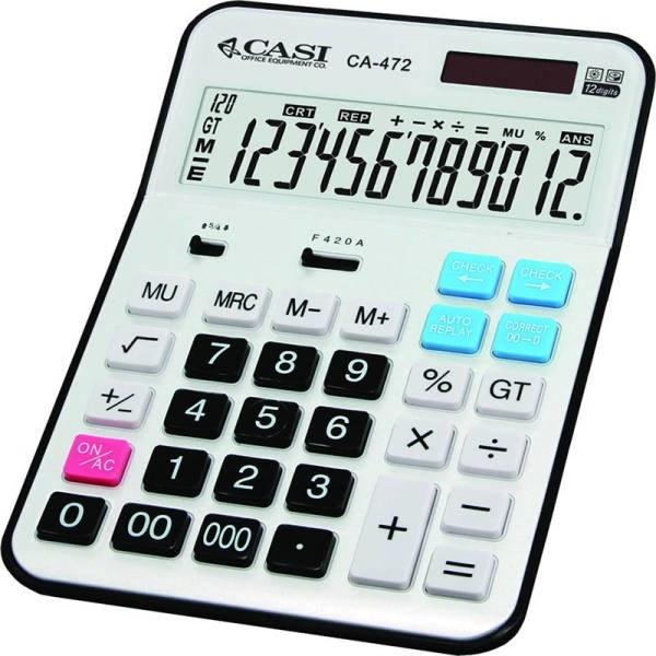 ماشین حساب کاسی مدل سی اچ ۴۷۲