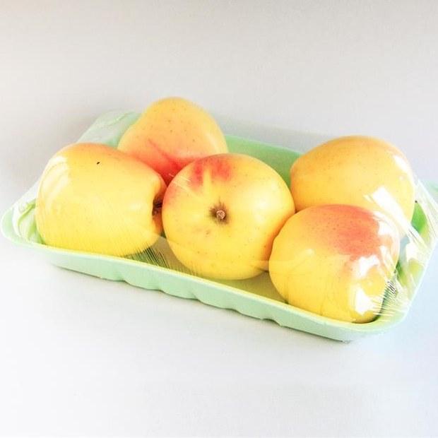 خرید سیب زرد درجه 1 /700 گرمی بسته بندی شده