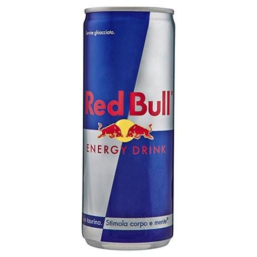 تصویر نوشیدنی انرژی زا رد بول Red Bull اورجینال لهستانی حجم 250 میل