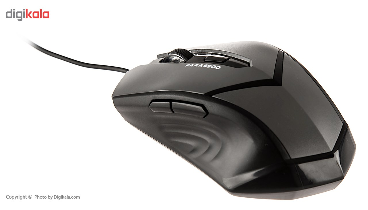 تصویر ماوس فراسو مدل اف او ام ۳۱۷۵ Farassoo FOM-3175 Wired Mouse