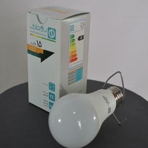 لامپ ال ای دی 15 وات حبابی روناک |