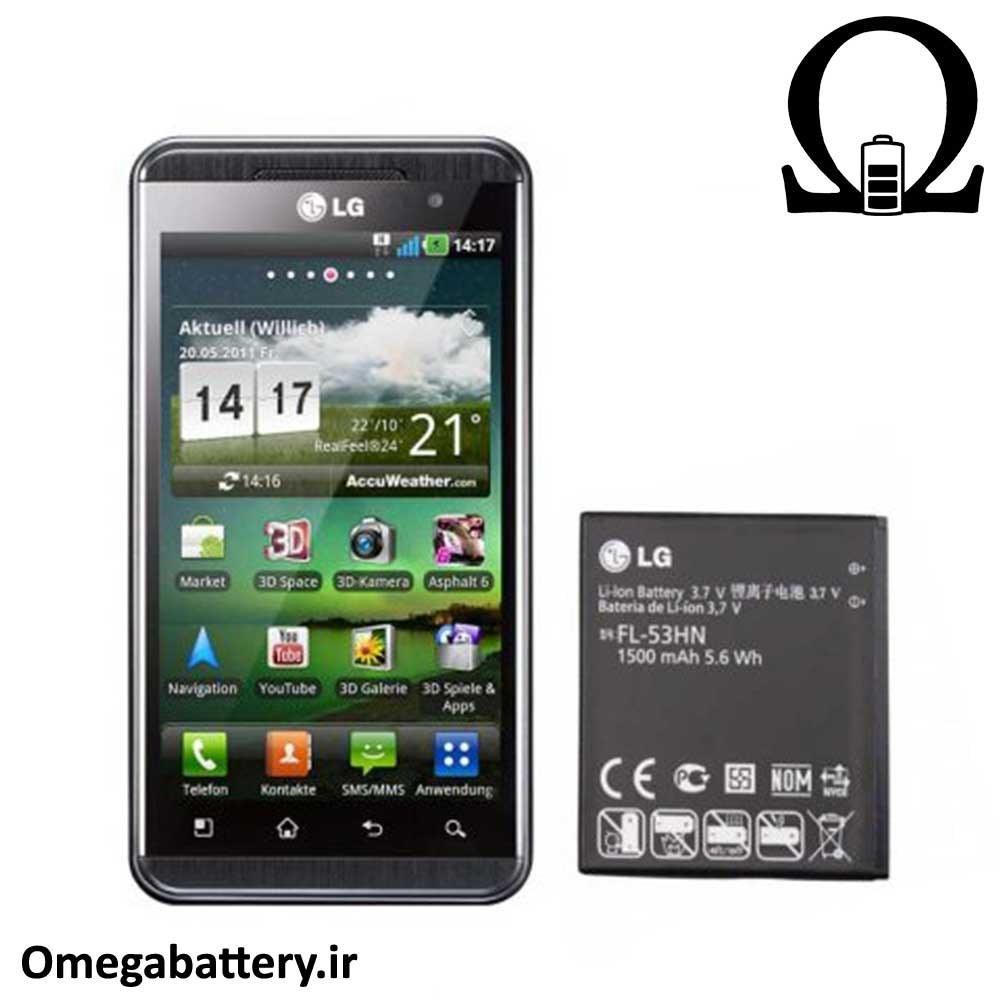 تصویر باطری LG P990 Optimus 2X – FL53HN battery of LG P990 Optimus 2X - FL53HN