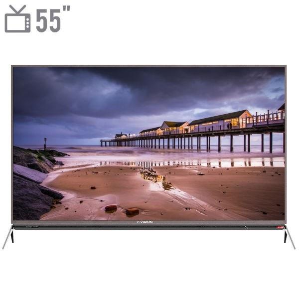 تصویر تلویزیون ال ای دی هوشمند ایکس ویژن ۵۵ اینچ مدل XTU725 تلویزیون ال ای دی هوشمند ایکس ویژن ۵۵ اینچ مدل XTU725
