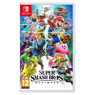 تصویر بازی Super Smash Bros - Ultimate - نسخه Nintendo Switch