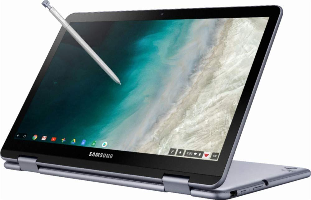 "2019 Samsung Plus 2-in-1 12.2"" (1920 x 1200) FHD WUXGA Touchscreen Chromebook Lightweight 