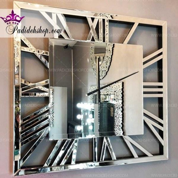 ساعت دیواری آینه ای سهیل