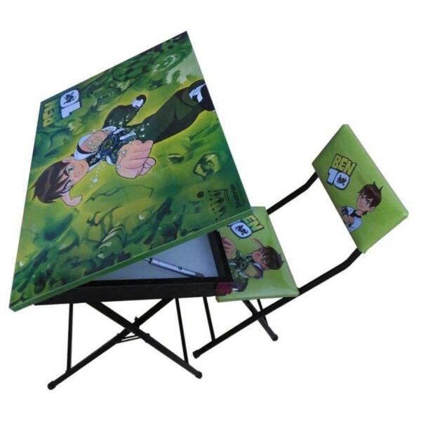 تصویر صندلی و میز تحریر باکسدار کودک + ارسال رایگان