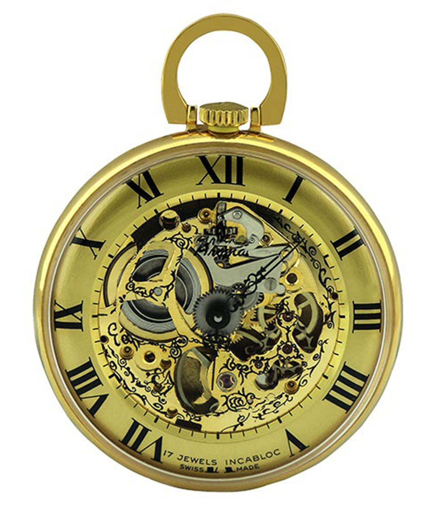 تصویر ساعت جیبی مردانه وزنانه آروما ، کد MPK54GRMG