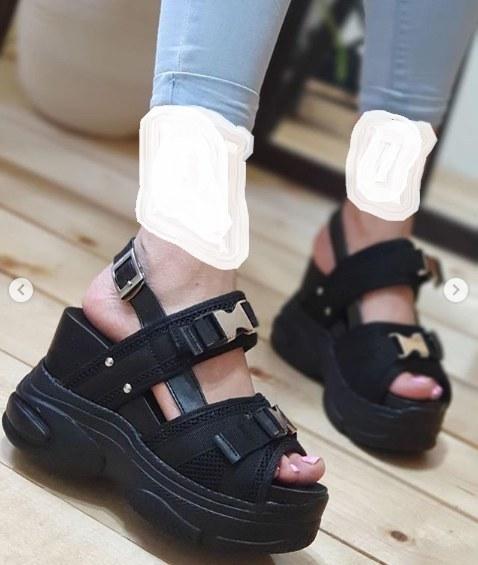 کفش تابستونی لژدار
