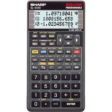 تصویر ماشین حساب شارپ EL-5120