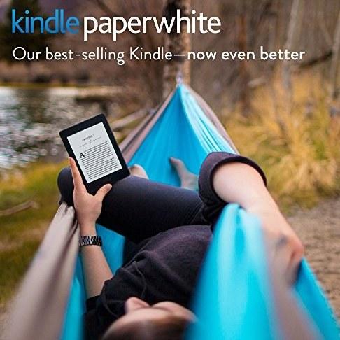 پکیج کتابخوان Kindle صفحه نمایش 6 اینچی ، کاور Amazon برای آن و آداپتور