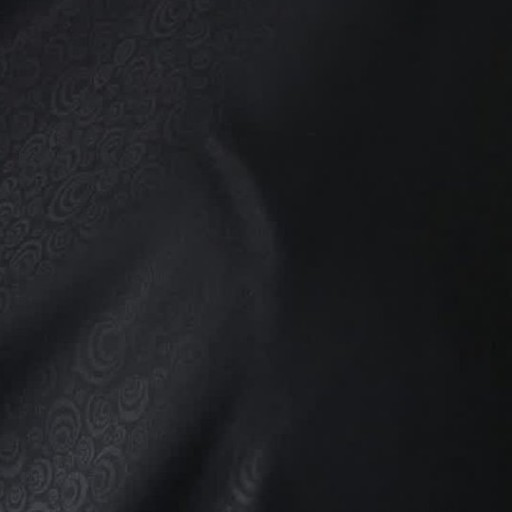 پارچه چادر مشکی ایرانی طرحدار با قواره 120 سانتی متری با کیفیت و سبک و بسیار مشکی مربوط به کارخانه حجاب شهرکرد | پارچه چادر مشکی ایرانی طرحدار ( قواره 5 متر و 20 سانتی متری )
