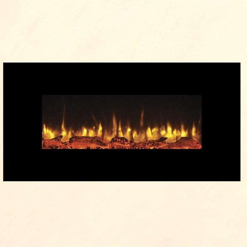 تصویر شومینه برقی دیواری آوالون مدل سانتا (8 ابعاد متنوع)