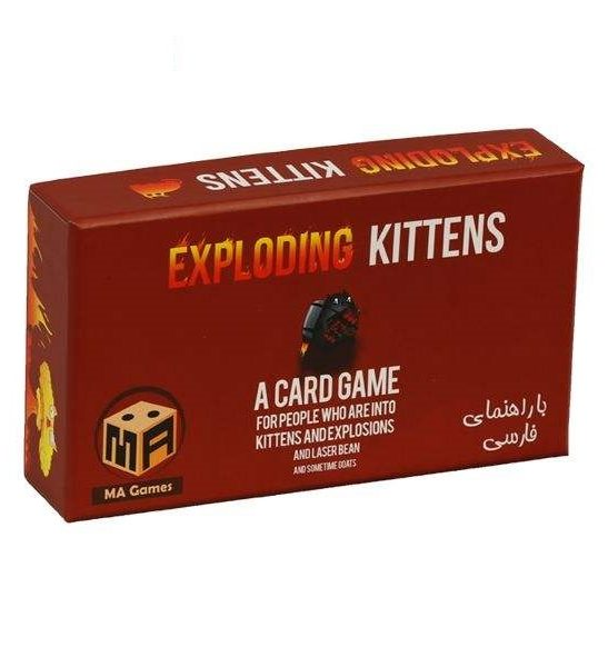 بازی کارتی اکسپلودینگ کیتنز مدل Exploding Kittens
