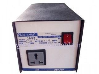 تصویر ترانس کاهنده ولتاژ 220 به 110 ولت 2000 ولت آمپر (اتو ترانس)