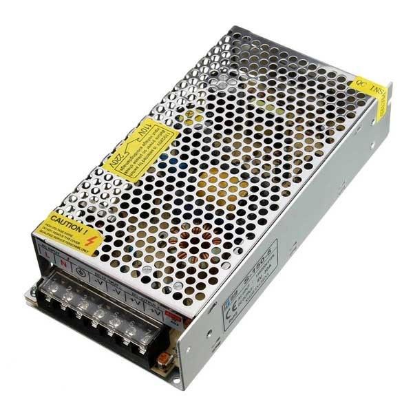 تصویر منبع تغذیه 12ولت 10آمپر DC power 12v 10a