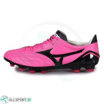 کفش فوتبال میزانو طرح اصلی مشکی صورتی Mizuno Morelia Neo Black Pink