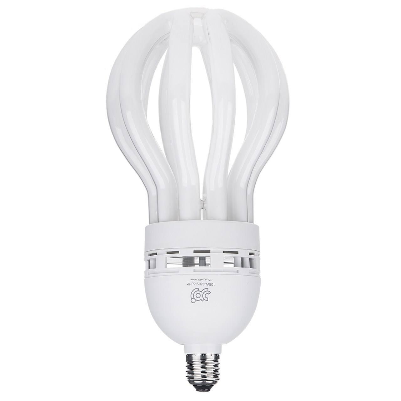 تصویر لامپ کم مصرف 105 وات آفتابی لوتوس زمرد پایه  E27