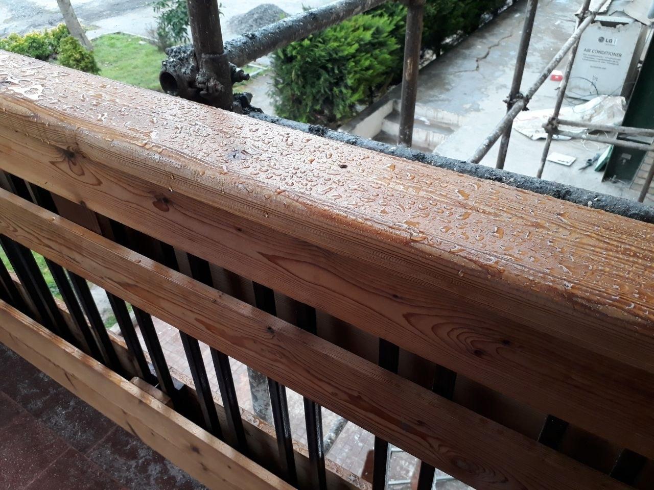 تصویر نانو رزین آبگریز - ضدآب و ضدحریق کردن چوب. ۱L