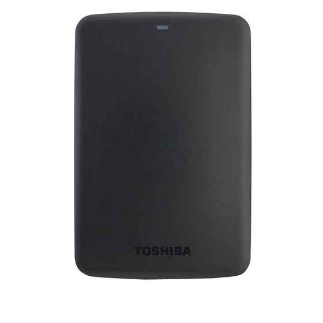 تصویر هارد اکسترنال توشیبا مدل Canvio Basics ظرفیت 3 ترابایت Toshiba Canvio Basics External Hard Drive - 3TB