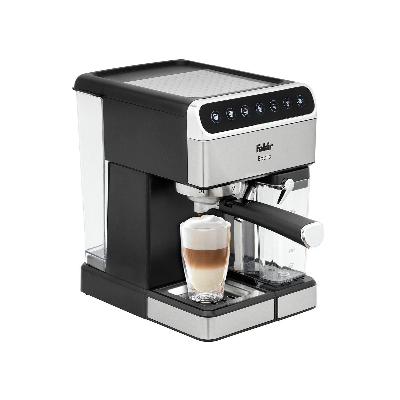 تصویر خرید اسپرسو ساز فکر 1350 وات Fakir Espresso Maker Babila Fakir portafilter Espresso Maker 1350W 1.8L Babila