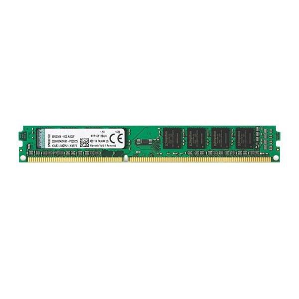 حافظه رم کامپیوتر کینگستون DDR3 1600MHz CL11 8GB | ظرفیت 8 گیگابایت تک کاناله Kingston RAM