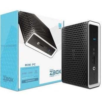 """تصویر مینی کامپیوتر Zotac ZBOX CI622 Nano, Barbone-ZBOX-CI622NANO-BE زوتاک Zotac ZBOX CI622 Nano, Barbone, Intel Core i3-10110U, Dual-Core 2.1 GHz, 2 x DDR4-2666 SODIMM Slot, 2.5"""" SATA III Bay, Dual GLAN, Wifi, BT, DP, HDMI, EU + UK Plug Mini PC - Black I ZBOX-CI622NANO-BE"""