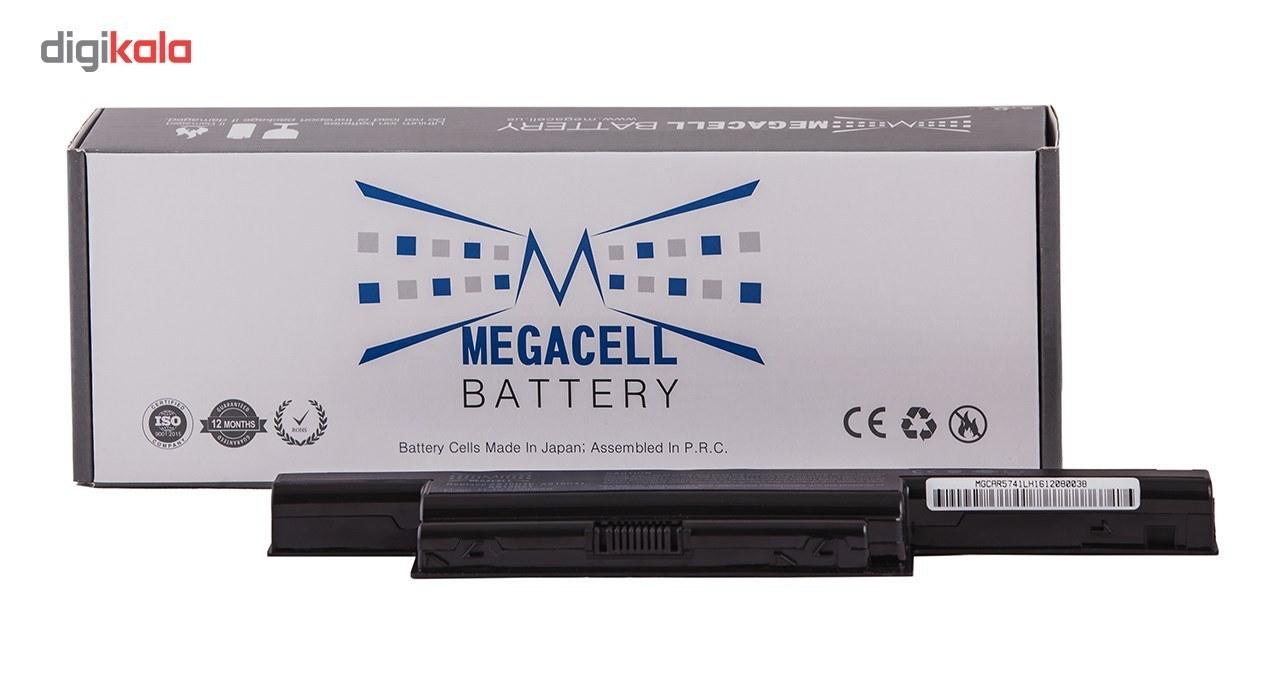 img باتری لپ تاپ 6 سلولی مگاسل برای لپ تاپ ACER 5742 ACER 5742 6 Cell Megacell Laptop Battery