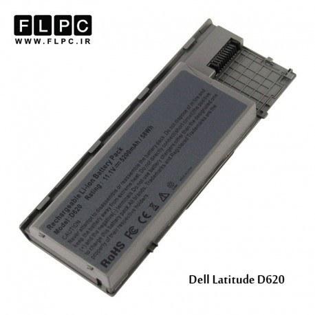 تصویر باتری لپ تاپ 6 سلولی لپ تاپ دل D620 Dell D620 6 Cell Battery Laptop CLs