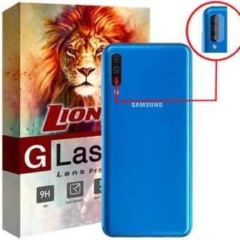 محافظ لنز دوربین لایونکس مدل UTFS مناسب برای گوشی موبایل سامسونگ Galaxy A50 |